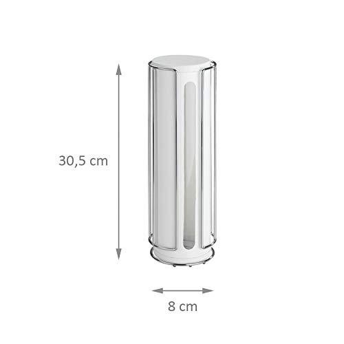 Wenko turboloc Soporte para Dosis de c/ápsulas Senseo/ /kaffeepad plana con aroma/ /padst/ä Nel/ /Caf/é Pads /sin agujeros/ /Recipiente padspe Nel/