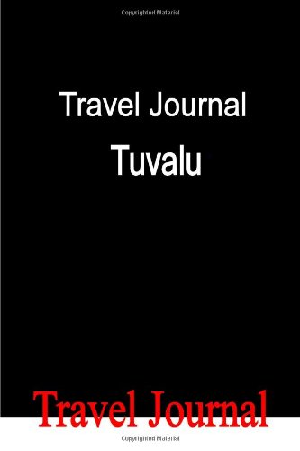 Travel Journal Tuvalu