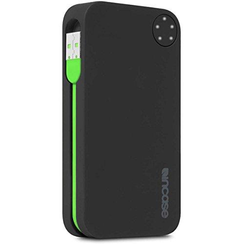 (Incase Portable Power 5400 - Retail Packaging - Black Matte/Fluro Green)