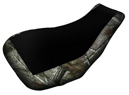 VPS Seat Cover Compatible With Suzuki King Quad 700 Bk Top Camo Sides ATV Seat Cover -  verde powersports, verdepowersports30345