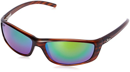 Hobie Cabo CABO-191926 Polarized Oval Sunglasses, Brown, 60 - Hobie Sunglasses Woody