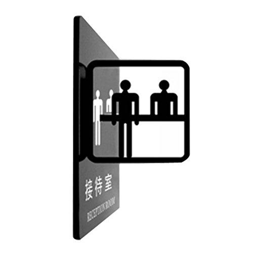 PANDA SUPERSTORE Office Signpost Department Cute Sign Doorplate Decorative Sign [Reception Room]