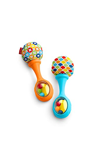 Fisher Price Rattle Rock Maracas Orange product image
