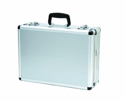 Alumitech Case - T.Z. Case International Pro-Tech 4-8 Pistol Promo Case, Silver, 18-Inch