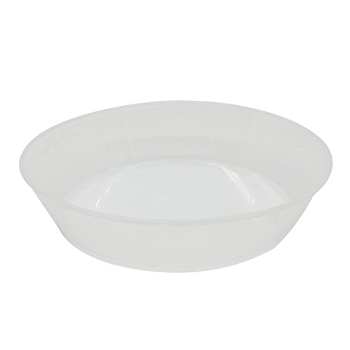 coisound 1688 Round Plastic Plants Pot Saucer Trays,for holding Soil and Water Drips, Excellent For Indoor & Outdoor Plants(The Orchid Clear Plastic Pot Can Be Placed On It) (2, 14.1in) by coisound 1688