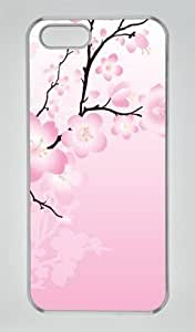 Iphone 6 plus 6 plus PC Hard Shell Case Blossom Abstract Transparent Skin by Sallylotus