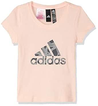 adidas Logo Tee T-Shirt (Sleeveless) For Women DJ1325 Beige - 7-8 Years
