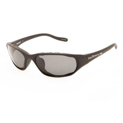 Native Eyewear Throttle Interchangeable Polarized Sunglasses Asphalt/Gray, One ()