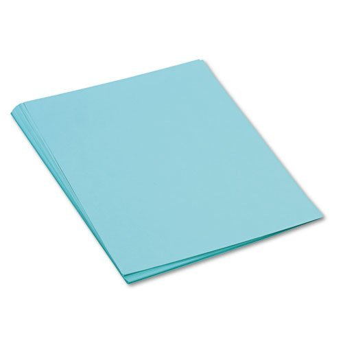 (Pacon 103071 Tru-Ray Construction Paper, 76 lbs, 18 x 24, Turquoise, 50 Sheets/Pack)
