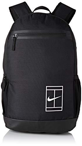 - Nike Court Tennis Backpack (Black/Black/White, One Size)