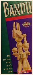 Milton Bradley Bandu the Stacking Game That's Never the S...