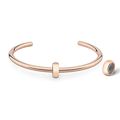 """Glamulet Basic """"C"""" Bangle 925 Sterling Silver Cuff Charms Bracelets For Women from Glamulet"""