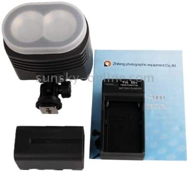 WEIHONG Photographic Lighting ZF-2000 2 LED Video Light for Camera//Video Camcorder WEIHONG