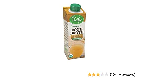 Amazon Pacific Foods Organic Bone Broth Chicken With Ginger 8