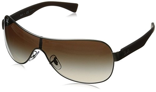 Ray-Ban RB3471 - GUN METAL  MATTE Frame BROWN GRADIENT Lenses 32mm - Ban Ray Gunmetal