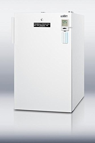 FS407L7MEDADA MEDADA Series 2.8 cu.ft. Capacity Manual Defrost Medical All-freezer Commercially Listed Factory Installed Lock High Temperature Alarm ADA Compliant: White