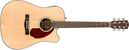 Fender CD-140SCE Dreadnaught Acoustic Guitar – Natural