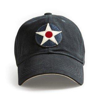 RED CANOE UNITED STATES ROUNDEL CAP NAVY ()