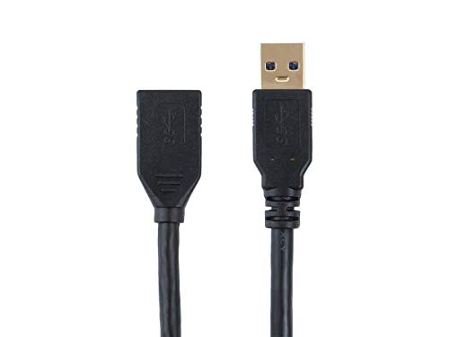 Monoprice Select Series USB 3.0 A to A Female Extension Cable 6ft use with Playstation, Xbox, Oculus VR, USB Flash Drive, Card Reader, Hard Drive, Keyboard, Printer, Camera and More!