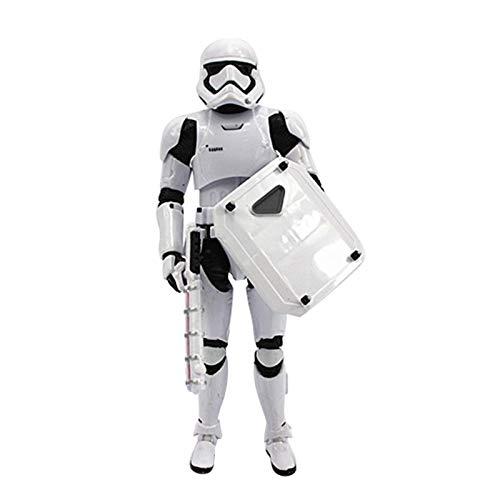 NELLIES Star Wars Toys Action Figure 6 inch PVC Episode 8 VIII The Last Jedi Black Series Elite Praetorian Guard Weapon Blade Gift for Kids -