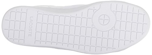 Women's Lacoste White Navy Carnaby Evo 1 Sneaker dvz4pq