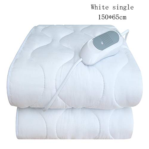 L.HPT Single Electric Blanket 3 Single Control Temperature Adjustable Automatic Shutdown Easy to Clean Safe Electric Household Dormitory [Energy Efficiency Class ()