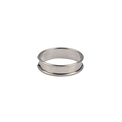 JB Prince Flan Ring 65mm diameter - pack of 6 6 Pack