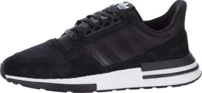 adidas ZX 500 RM Mens in Core Black/White, 11.5
