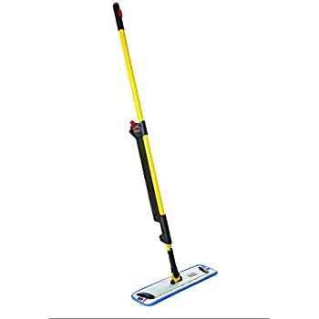 Rubbermaid Commercial 1835528 Pulse Microfiber Floor Cleaning System,  Handle With Single Sided Mop Frame