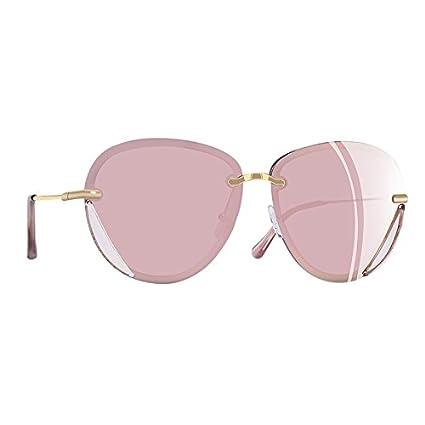 11b330f4b9 TIANLIANG04 Gafas de Sol polarizadas adaptadas a Las Mujeres atrás Gafas  UV40,C2ROSA