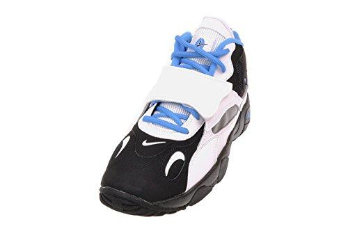 Nike Kid's Air Speed Turf (GS), BLACK/BLUE HERO-WHITE, Youth Size 7