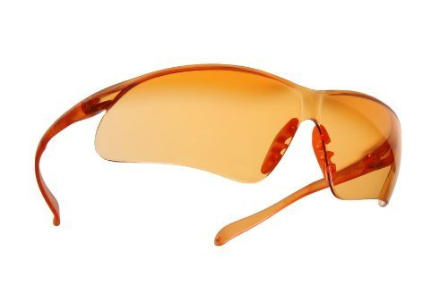LightGuard Sport Wrap Sunglasses, Lens: Orange by MAGNIFYING - Lightguard Sunglasses