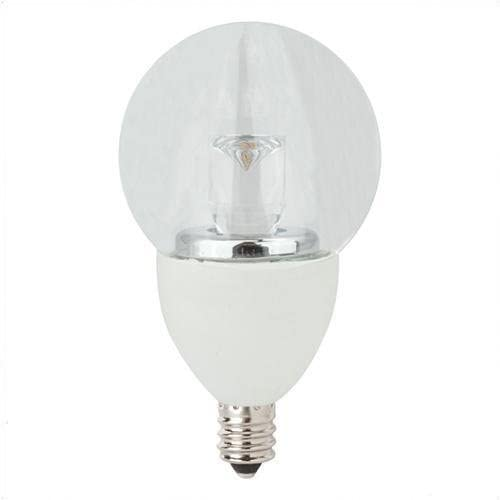 Dimmable G16 LED Globe Light Bulb TCP Lighting LED5E12G1627K