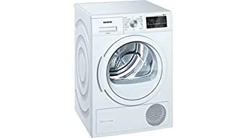 Siemens iQ500 WT47G439ES - Secadora (Independiente, Carga frontal, Bomba de calor, Blanco, Giratorio, Tocar, Derecho)