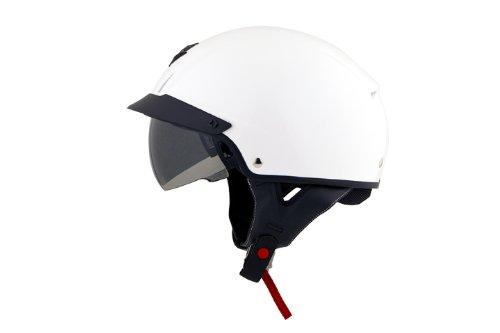 Scorpion EXO-C110 Solid Half Motorcycle Helmet White