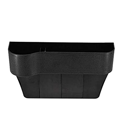 GCARTOUR Car Seat Pockets Leather Car Console Side Organizer Seat Gap Filler Catch Caddy with Non-Slip: Clothing