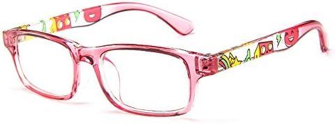 d4099e943c Amazon.com  Fantia Unisex Child Non-Prescription Glasses Frame Clear Lens  Kids Eyeglasses (2 -Pink)  Health   Personal Care