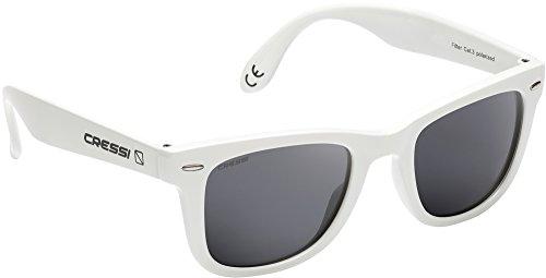 100 UV Polarizadas Protección Gafas Sol de Premium claro blanco Unisex Cressi Adulto gris 8q4wFgO