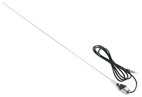 1 Factory Radio New Factory Antenna Replacement w Tool Easy Install Compatible with 1988-00 Chevy GMC Truck - New Replacement Antenna