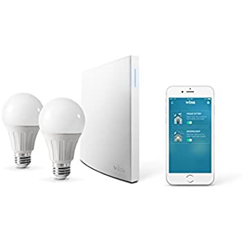 Wink Bright smart lighting essentials., Works with Amazon Alexa