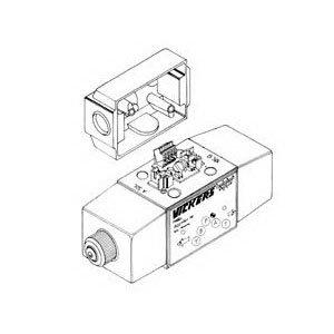 Vickers 507847 Standard Performance Type U Solenoid Coil, 12 VDC
