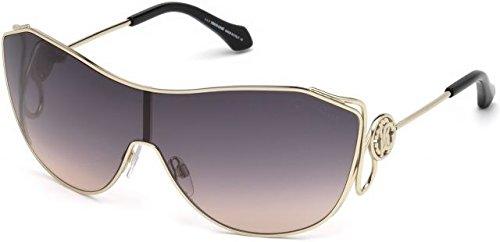 Sunglasses Roberto Cavalli RC 1061 Garfagnana 32B gold / gradient - Logo Sunglasses Cavalli Roberto