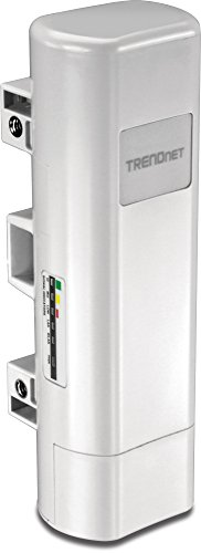 TRENDnet Long Range 11n 2.4GHz Wireless Outdoor PoE Access Point with Built-in 9 dbi Antennas, TEW-730APO by TRENDnet