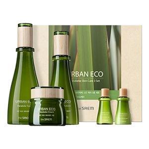[THE SAEM] Urban Eco Harakeke Skin Care Set 180ml, 140ml, 60ml, 20ml, 20ml from THESAEM