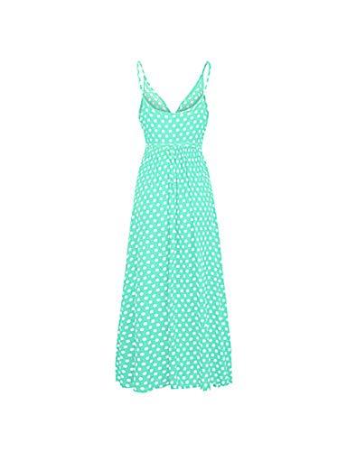 Donna green Per Maxi s Swing Ttdress Vestito 5TfXnxx