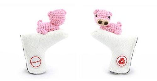 世界の Amimono Pigパターゴルフヘッドカバー ホワイト B00ATRG7AQ Amimono/ピンク B00ATRG7AQ, ながの東急百貨店:7d73fd2e --- a0267596.xsph.ru