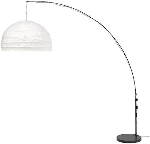 Ikea Regolit lámpara de pie en blanco y negro; arco: Amazon.es ...