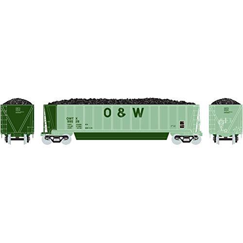 - Athearn HO RTR Bathtub Gondola w Coal Load O&W #99026