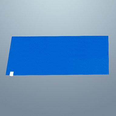 Devine Medical Tacky Mats, 18 x 34, Blue -120 Sheet Per Pack