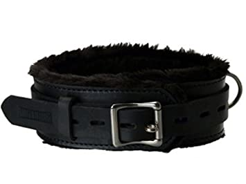 Fur bondage collars